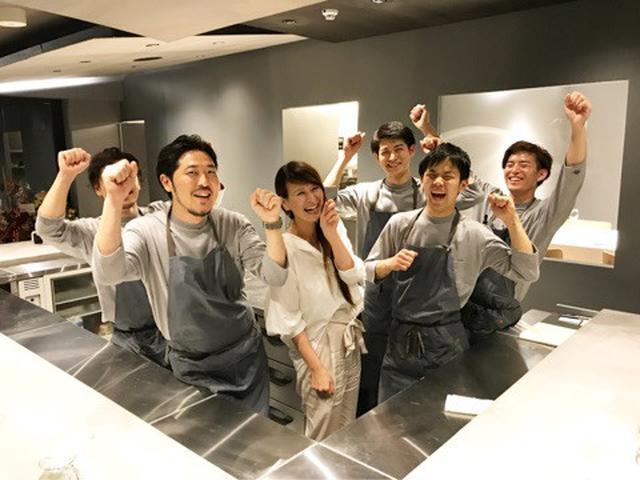 画像: 祝☆オープン!広尾 「Ode (オード)」ステージのようなキッチンカウンターが素敵!フレンチ