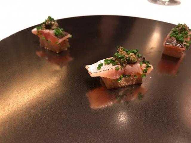 画像: 三つ星フレンチ「カンテサンス」2017年9月ディナー 料理画像