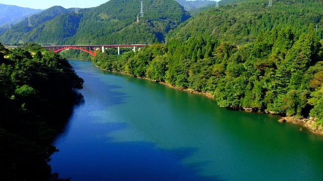 画像: 「これぞ絶景!神通峡&観光橋、おおざわの石仏の森、神三ダム」
