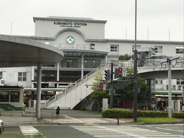 画像: どうにかこうにか熊本にやってきましたー!