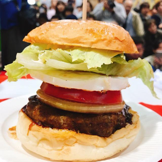 画像: 夢バーガー大食い大会♡