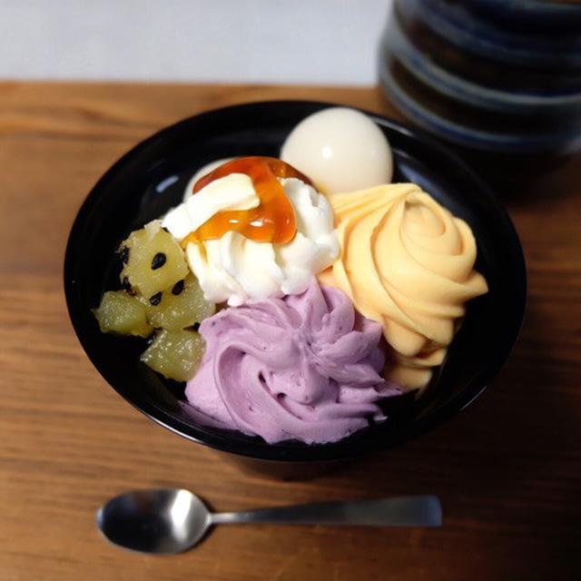 画像: セブンイレブン・かぼちゃとお芋の和ぱふぇ