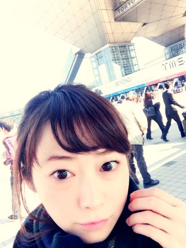画像: 本谷亜紀『東京モーターショー グルメキングダムに来てます(^^)』