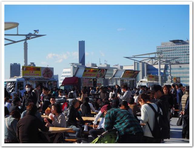 画像: 東京モーターショー2017会場の「グルメキングダム」で名店組み合わせグルメ。 - カレーですよ。