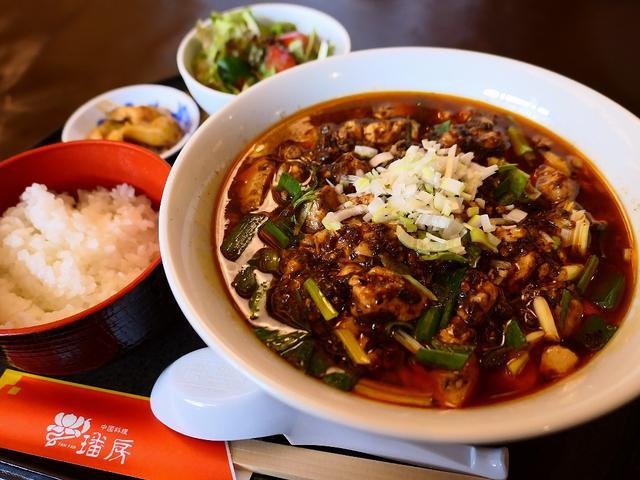 画像: 本格的で病みつきになる味わいの麻婆豆腐ラーメンの日替わりランチは満足感が高すぎます! 新大阪 「ファンファン」