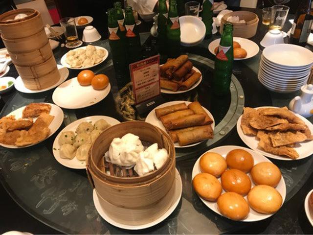画像: 中華食べ放題に大食いメンバーで♡