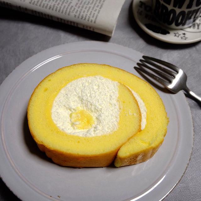 画像: セブンイレブン・こだわり卵のふんわりロールケーキ