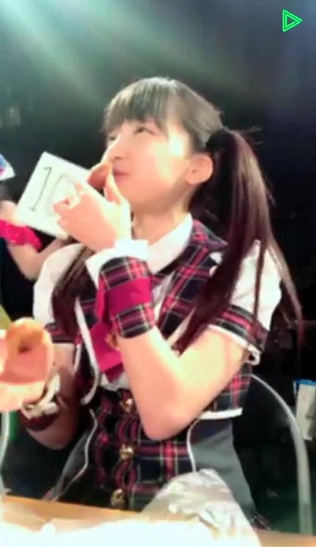 画像: アイドル大食い選手権♡