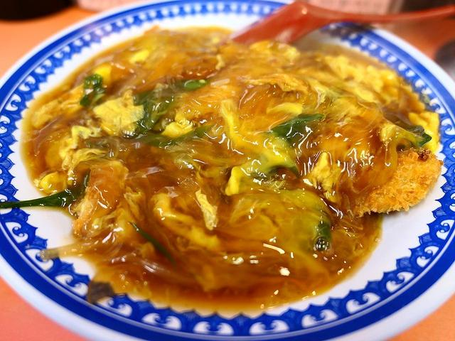 画像: 地元で大人気の下町中華の中華風かつ丼のあまりの美味しさに感動! 住之江区 「春来」