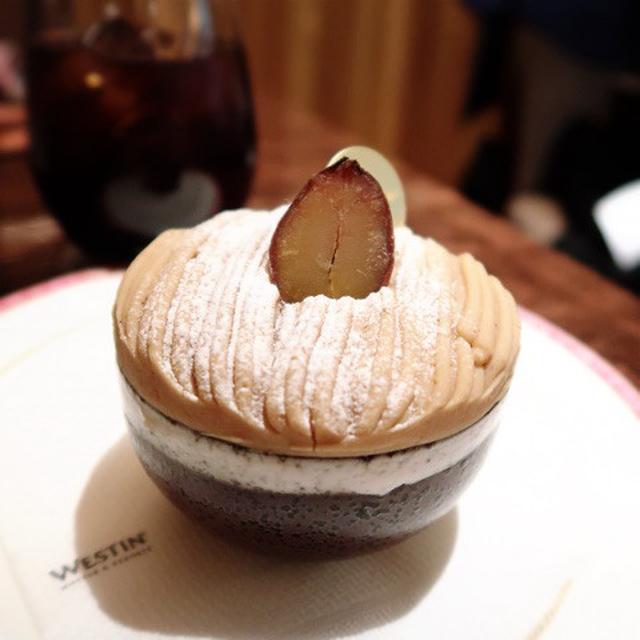 画像: ウェスティンホテル東京 ウェスティン デリ ペストリーブティック・スペシャルモンブラン