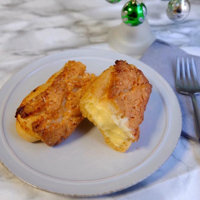 画像: ローソン・ザクッと食感のクロッカンエクレア