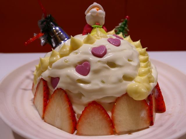 画像: Mのおやつ クリスマス限定のクリスマスかき氷は見た目も味も抜群です! 谷町四丁目 「麺とかき氷 ドギャン 谷四店」