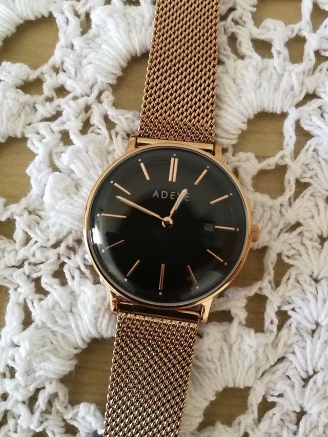 画像: 2017.12.26、母ごはん、新しい時計