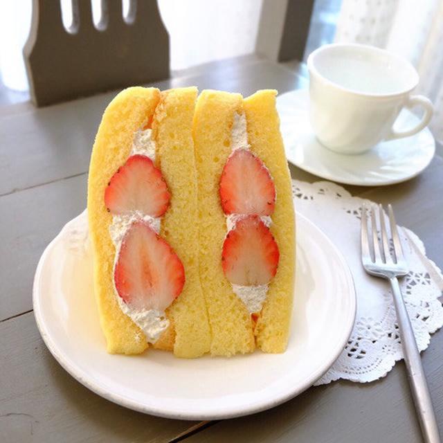画像: いちご祭り!ファミリーマート・いちごのケーキサンド