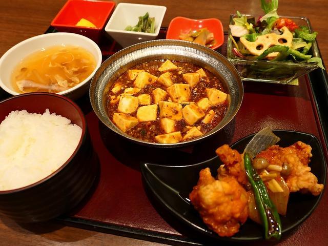 画像: 万人が美味しいと思える陳麻婆豆腐がメインのボリューム満点の四川料理ランチ! 天王寺 「四川餐館 あべのハルカスダイニング店」