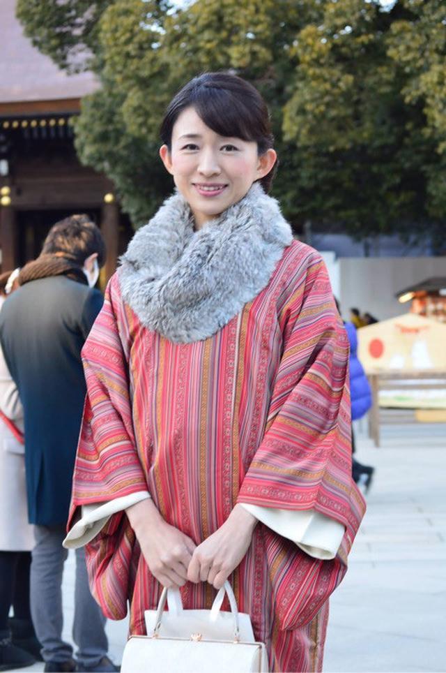 画像: 着物で初詣&おでん♪