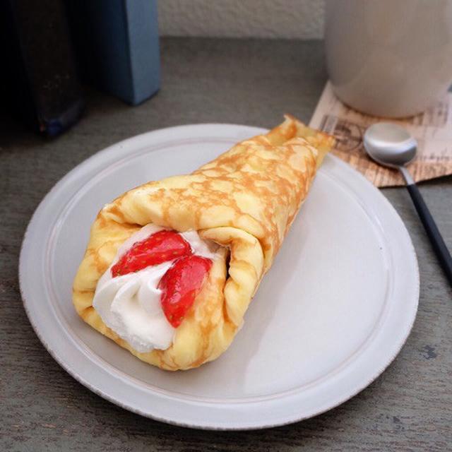 画像: いちご祭り!ローソン・苺&バナナのクレープ包み