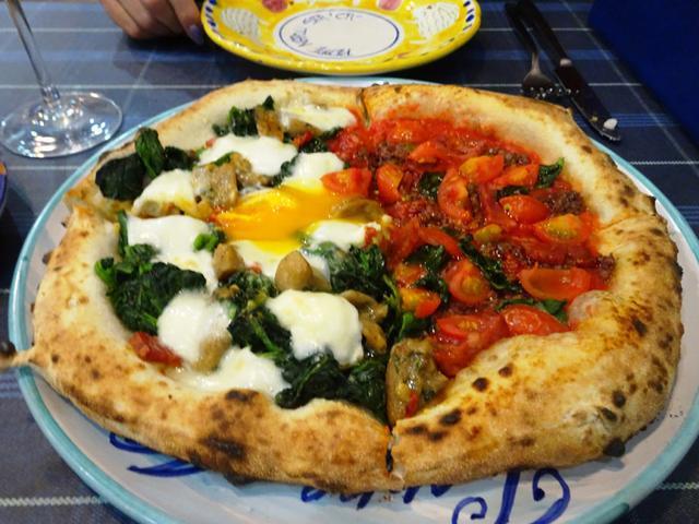 画像: ダ・ペッペナポリスタカの「Pizza Jaffa」をアレンジ♪