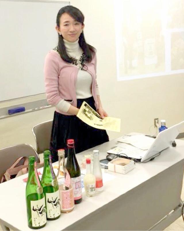 画像: 日本橋三越カルチャーサロンにて日本酒講座講師☆