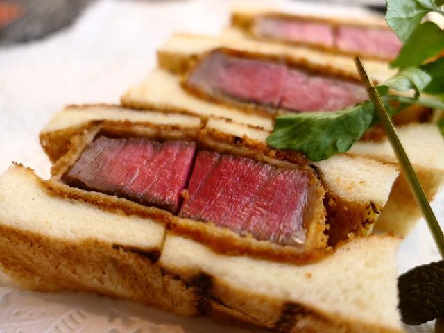 画像: 6代目おけいはんも大絶賛!誰が食べても心から感動するほど美味しい超絶品ビフカツサンド! 枚方市 「肉の松阪 さんぷら座店」