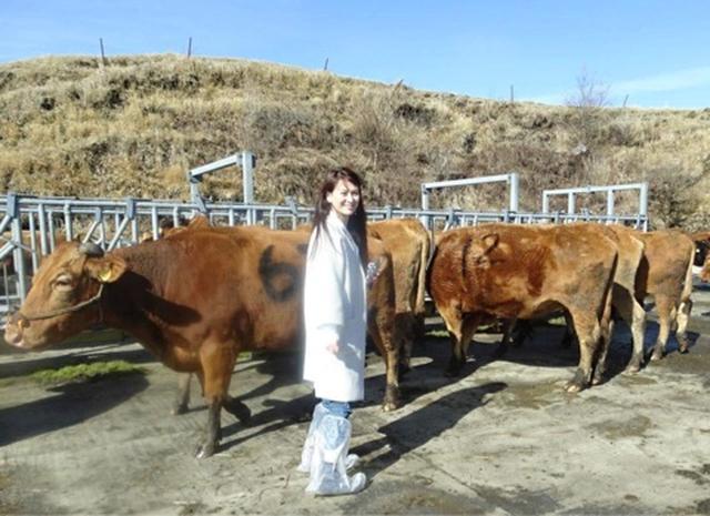 画像: 里井真由美『④「くまもと あか牛」探求〜 「跡ケ瀬牧場」で放牧牛とご対面』