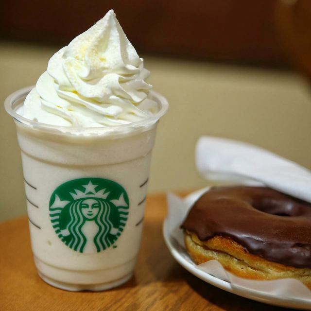画像: スターバックス・チョコレートクリームドーナツ
