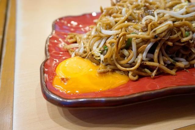 画像: 【福岡】パリモチ!卵入り焼そば♪@バソキ屋 那の川本店