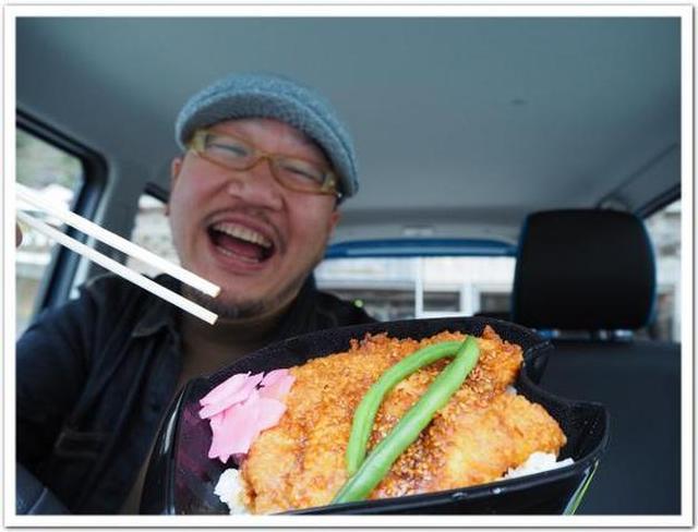画像: カレーですよ4411(秩父大滝村 バイク弁当の大滝食堂)ガソリンタンクの弁当箱。