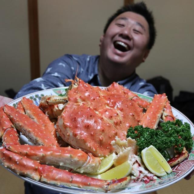 画像: 七福寿司(北海道・天塩町/人生最大のカニ) : フォーリンデブはっしー  公式ブログ
