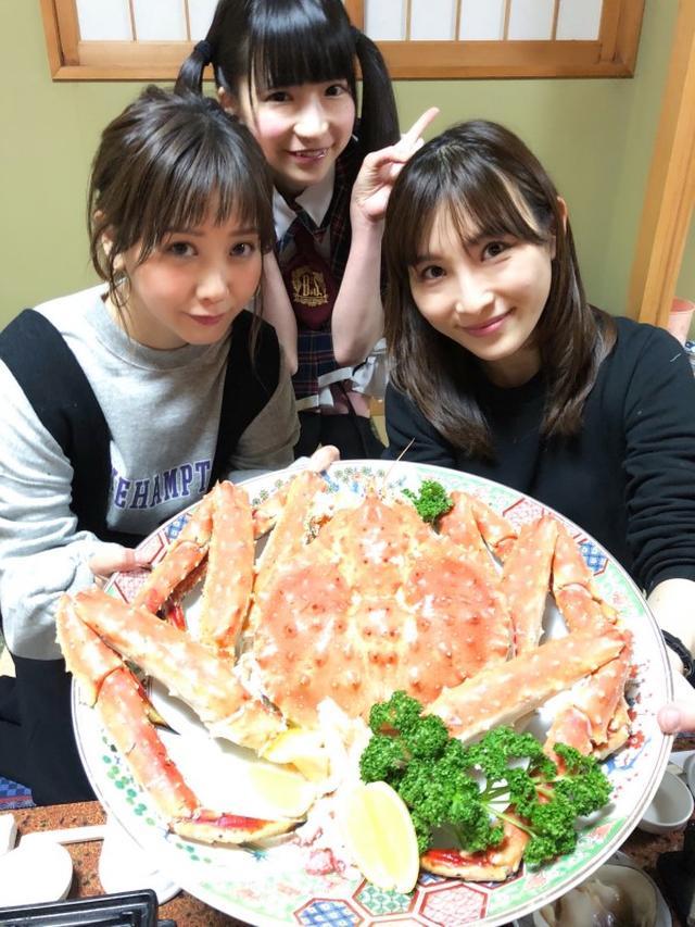 画像: 人生で一番大きなカニを食べた夜のこと : はあちゅう 公式ブログ