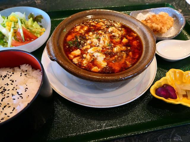画像: 自家製XO醤を使った高級感溢れる味わいの麻婆豆腐! 梅田スカイビル 「中国料理 燦宮」