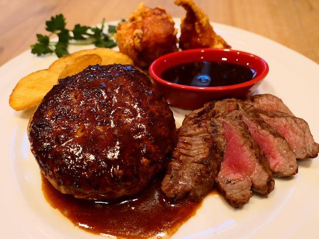 画像: 美味しいお肉のメイン料理に野菜、オードブル、ドリンクのビュッフェがもれなく付いてくるとてもお得なセット! 枚方市 「森のロマン亭」