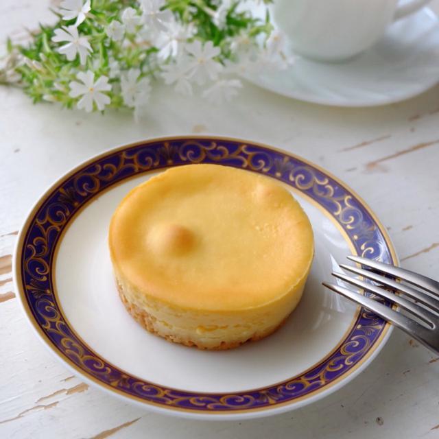 画像: ローソン ウチカフェ・濃厚なめらかベイクドチーズケーキ