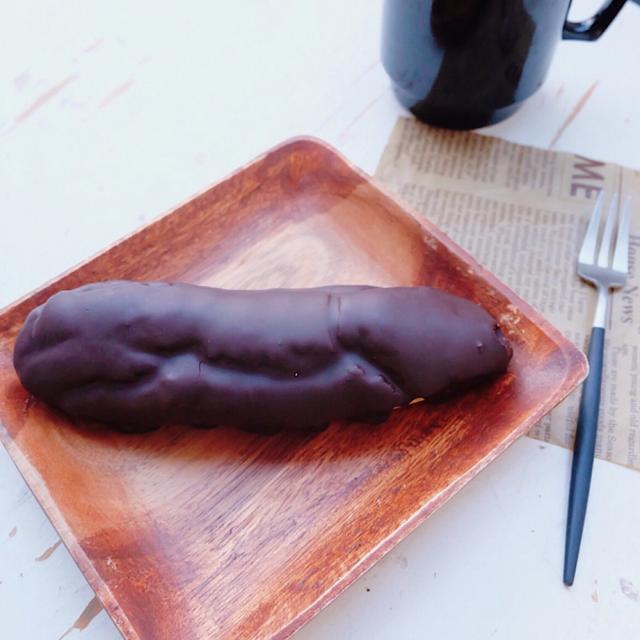画像: ローソン ウチカフェ・なめらかカスタードクリームエクレア