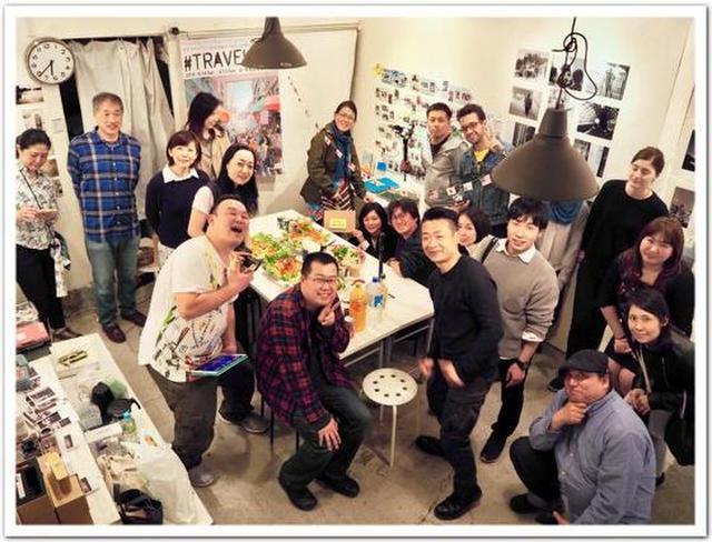画像: カレーですよ4235(浅草橋 写真企画室ホトリ)イベント「トラベリアン3rd」レセプションパーティーでパドマデザイン/ASIA GOHAN。