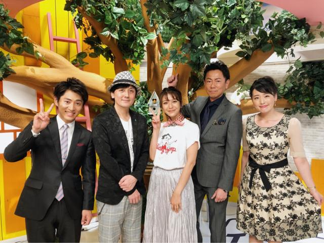 画像: 2日連チャンでテレビ出演!