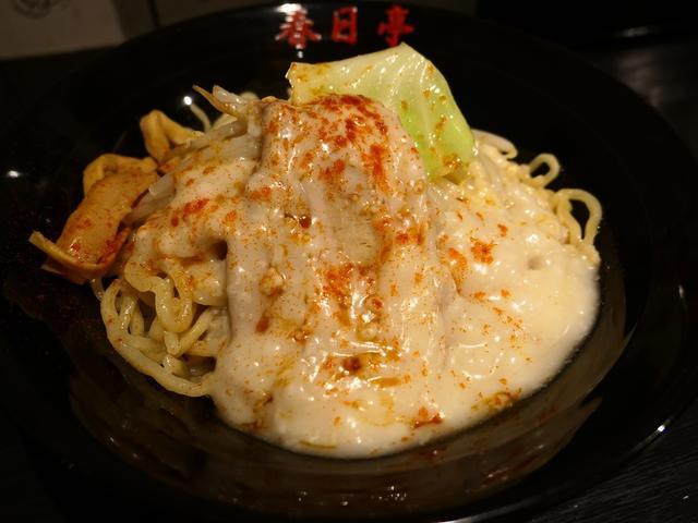 画像: 東京で人気の極太麺の油そば専門店が関西に初進出しました! 道頓堀 「油そば専門店 春日亭 道頓堀店」