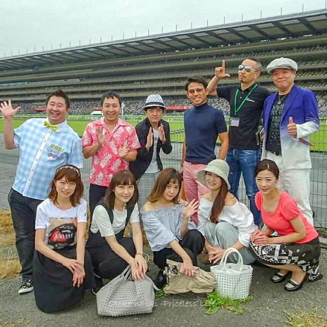 画像: 日本ダービーでグルメキングダム(東京競馬場)
