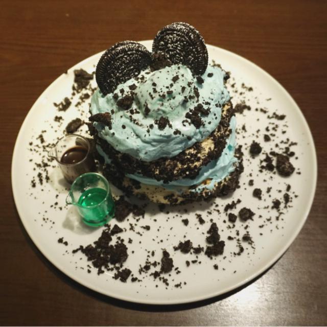 画像: 【うミント】512カフェアンドグリル・チョコミントパンケーキ
