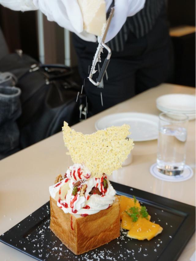 画像: ホテル日航大阪・パフェ フロマージュ・サンク