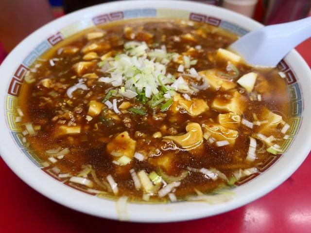 画像: 築地市場内のいぶし銀の老舗中華料理店の麻婆麺は奇をてらわない誰もが大好きな味わいです! 築地 「やじ満」