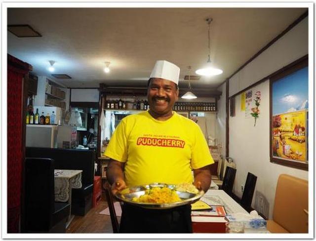 画像: カレーですよ4263(中板橋 プドゥチェリ)新店、南インド。