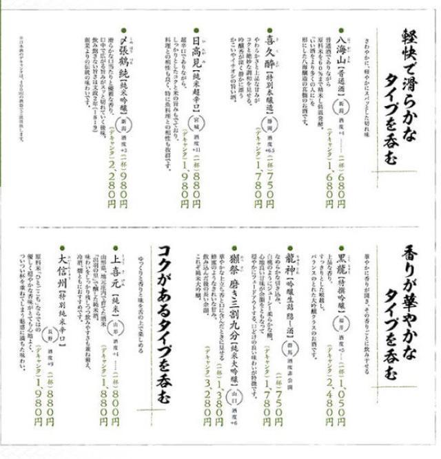 画像: 鯖に合う日本酒☆
