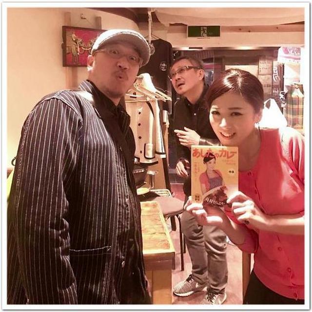 画像: カレーですよ4266(下北沢 般゚若)トークライブ。松尾貴史さんと一条もんこさん。