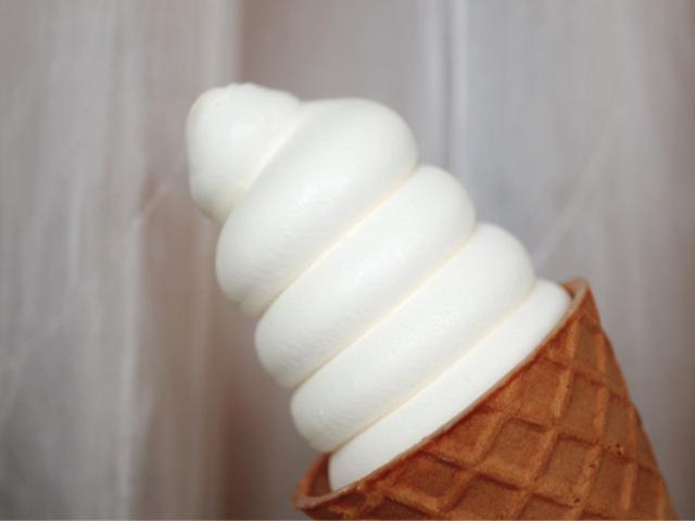 画像: 【ソフトクリームの日】セブンイレブン・金のワッフルコーン ミルクバニラ