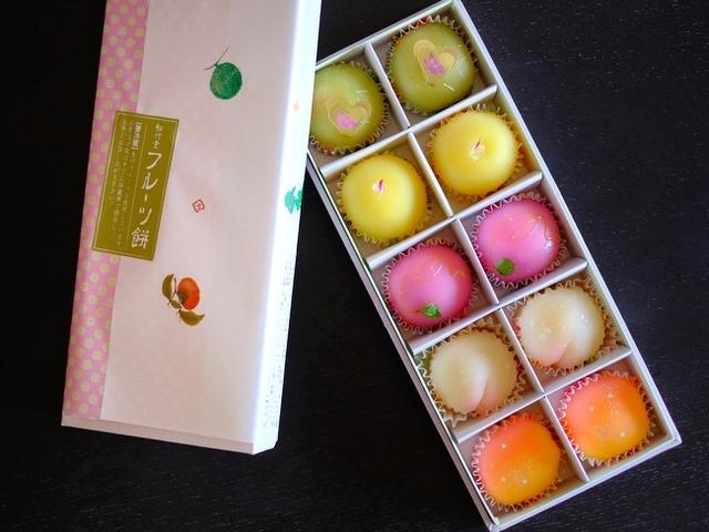 画像: 「大阪吹田 松竹堂のフルーツ餅をお取り寄せ」