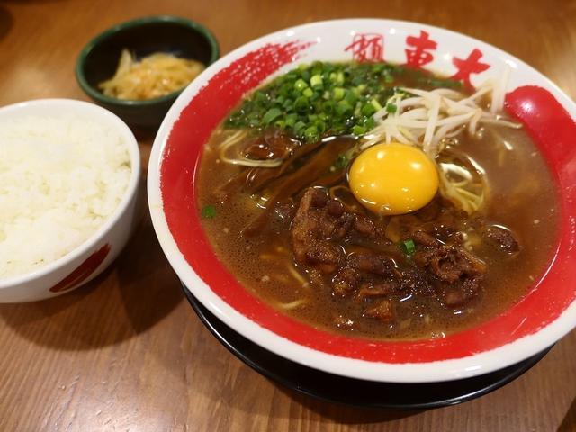 画像: 徳島県のご当地ラーメンの徳島ラーメンは白いご飯のおかずです! 京都 「ラーメン東大 京都店」
