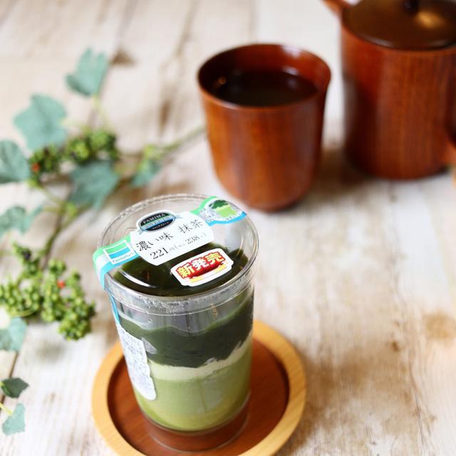 画像: ファミリーマート ・濃い味 抹茶