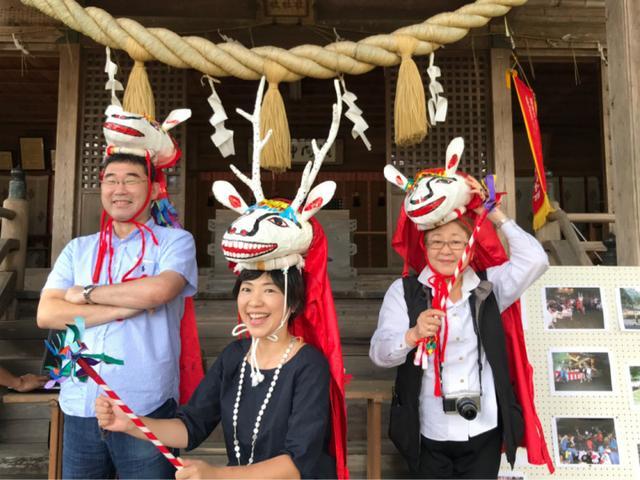 画像: 川根本町 徳山 国指定重要文化財 鹿ん舞 静岡県 ふじのくに美しく品格のある邑づくり