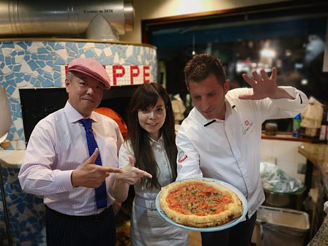 画像: ダ・ペッペナポリスタカで太陽のピッツァを食べよう♪